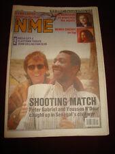NME 1989 JUNE 3 PETER GABRIEL YOUSSOU N'DOUR CYNDI LAUPER VAN MORRISON NEW ORDER