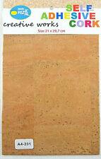 Korkstoff - Selbsklebend 21 x 29,7 cm