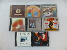 Lot of 8  Music CDs  Havana Rhythms Clarence Carter Southern Soul Cool Jazz  VG