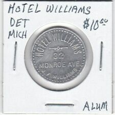 Token - Detroit, MI - Hotel Williams - G/F 5 Cents - Aluminum