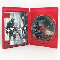CRYSIS 2 (Sony PlayStation 3, 2011) Complete Greatest Hits Fast Shipping