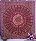 Indian Mandala Hippie Bohemian Tapestry Queen Wall Hanging Beach Throw Bedspread