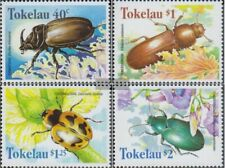 Tokelau 266-269 (complete issue) unmounted mint / never hinged 1998 Beetles