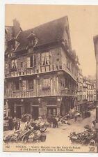 Rouen Vieille Maison Rue des Eaux de Robec Vintage Postcard France 274a