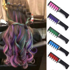 1pc Temporary Dye Colour Hair Chalk Soft Pastel Cream Comb Salon Hair Brush DSUK