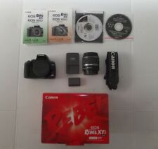 Canon EOS Digital Rebel XTi / EOS 400D 10.1MP Digital SLR Camera Black Kit 18-55