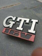 VW GOLF JETTA MK2 FRONT GRILL GRILLE GTI 16V BADGE EMBLEM LOGO 191853679M