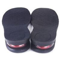 3CM Erhöhung Erhöhen Einlegesohle Schuheinlagen Luftkissen Pad Increase Insole