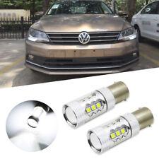 2X For Volkswagen Jetta MK6 CANbus White SAMSUNG LED Bulb Daytime Running Lights