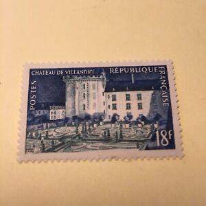 TIMBRES FRANCE  N°995 NEUFS ** LUXE MNH 1954 CHATEAU DE VILLANDRY COTE 6€
