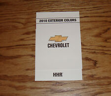 Original 2010 Chevrolet HHR Exterior Colors Foldout Sales Brochure 10 Chevy