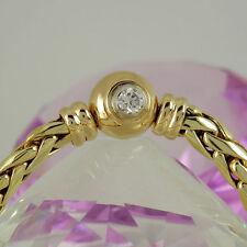 Reinheit VVS Natürliche Echtschmuck-Halsketten & -Anhänger aus Gelbgold
