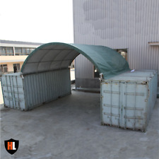 20 x 20 FT SHIPPING CONTAINER CANOPY / SHELTER, SHED - GALVANISED STEEL FRAME