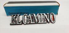 3064881 1978-1987 Chevrolet El Camino Rear Quarter Panel Emblem Nos OEM