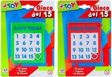 GIOCO DEL 15 8,6X10,5CM 37887 GLOBO