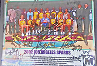 Los Angeles Sparks WNBA Championship Year Autographed Team Picture from 2002