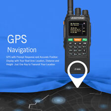Zastone ZT889G GPS Walkie Talkie Two Way FM Radio 134-174/400-520MHz For Hunting