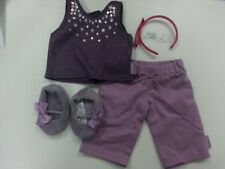 AMERICAN GIRL ISABELLE LEG WARMER 3 PIECE SET COMPLETE NEW IN BOX