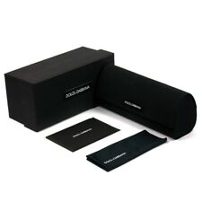 New Case Dolce Gabbana Sunglasses Black Hard D G Eyeglasses Sunglass Glasses RX