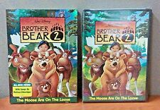 Authentic Disney:  Brother Bear   ( 2 DVD Set )    W/Slipcover   BRAND NEW