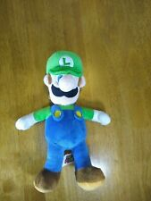 SUPER MARIO 13'' LUIGI Plush NINTENDO Good Stuff Stuffed Animal Toy 2016 Plummer