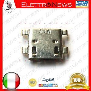 Connettore di ricarica Micro usb presa di ricarica per Audiola Tab 0376 3G A028