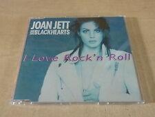 JOAN JETT - I LOVE ROCK'N ROLL - SLIM CASE!!!FRANCE!!!!!!RARE CD!!!!!!!