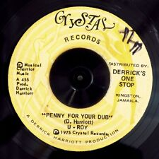 U Roy - Penny For Your Dub  /  Version