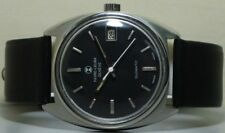 Vintage Favre Leuba Daymatic Swiss Made Wrist Watch s94 Old Used Antique