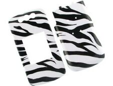 Image Plastic Cover Zebra Skin For BlackBerry Pearl Flip 8220 8230
