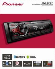Digital Media Receiver Single DIN Car Dashboard Hands Free Calling Bluetooth USB