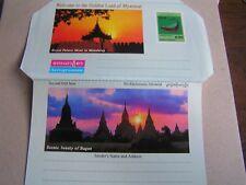000004Ac Burma, Myanmar. new unused airmail letter