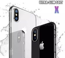 PACK Thin Crystal Hard Back Case Cover for Apple iPhone X Clear Transparent