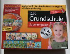 4 CD-ROMs Das Grundschule Superlernpaket 1.-4. Klasse _ 15I