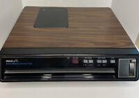 Vintage RCA SelectaVision CED VideoDisc Player Model SFT 100 W - Tested Works!