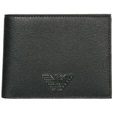 Emporio Armani wallet men Y4R165YLA0E81072 Black coin pocket pursue billfold