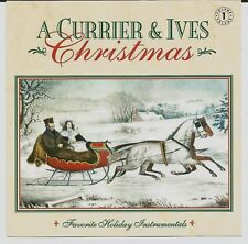A Currier & Ives Christmas Music CD Instrumental