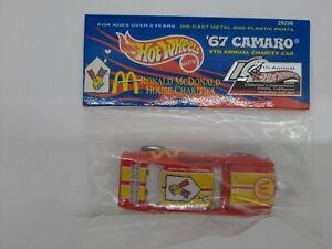 Hot Wheels 14th Annual Convention 2000 Ronald McDonald Charities '67 Camaro! RR