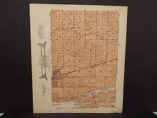 Nebraska Buffalo County Map Center Township 1919 P5#93
