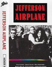 JEFFERSON AIRPLANE  CASSETTE ALBUM GRACE SLICK PAUL KANTNER BALIN CASADY