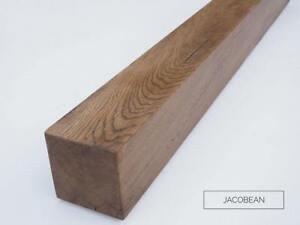 "Oak Fascia Beam Air Dried Solid Oak Mantel Rustic Aged 6""x1.5"""