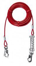 Chaîne D'attache Rouge Trixie pour Chiens Longueur 5 M