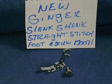 NEW SINGER 301 301A 401 403 500 SEWING MACHINE SLANT SHANK FOOT & SCREW 170071