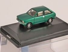 FORD FIESTA Mk1 in Green 1/76 scale model OXFORD DIECAST