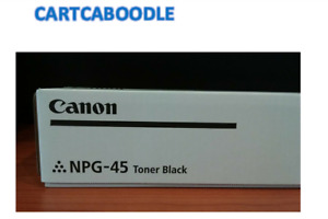 Canon NPG-45 Genuine Black Toner  - for iR Advance C5045 / C5051 / C5255