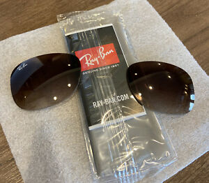 New Genuine Authentic Ray Ban RB4202 ANDY Brown Gradient Replacement Lenses 55mm