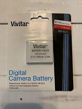 Battery For CANON PowerShot D10D20 D30 S90 S95 ELPH 500 HS NB-6L/NB-6LH