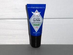 JACK BLACK Intense Therapy Lip Balm, MINT Shea Butter SPF 25 Sunscreen .1 oz. 3g