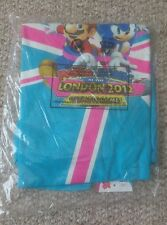 Mario E SONIC GIOCHI OLIMPICI DI LONDRA 2012 T Shirt Gaming cimeli RARA WII