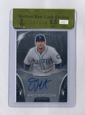 DJ PETERSON 2013 BOWMAN STERLING AUTO ROOKIE RC BGS 9.5 10 MARINERS